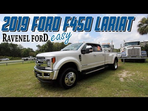 Here's a In Depth Review | 2019 FORD F450 DRW Lariat w/6.7L Power Stroke Diesel - Test Drive