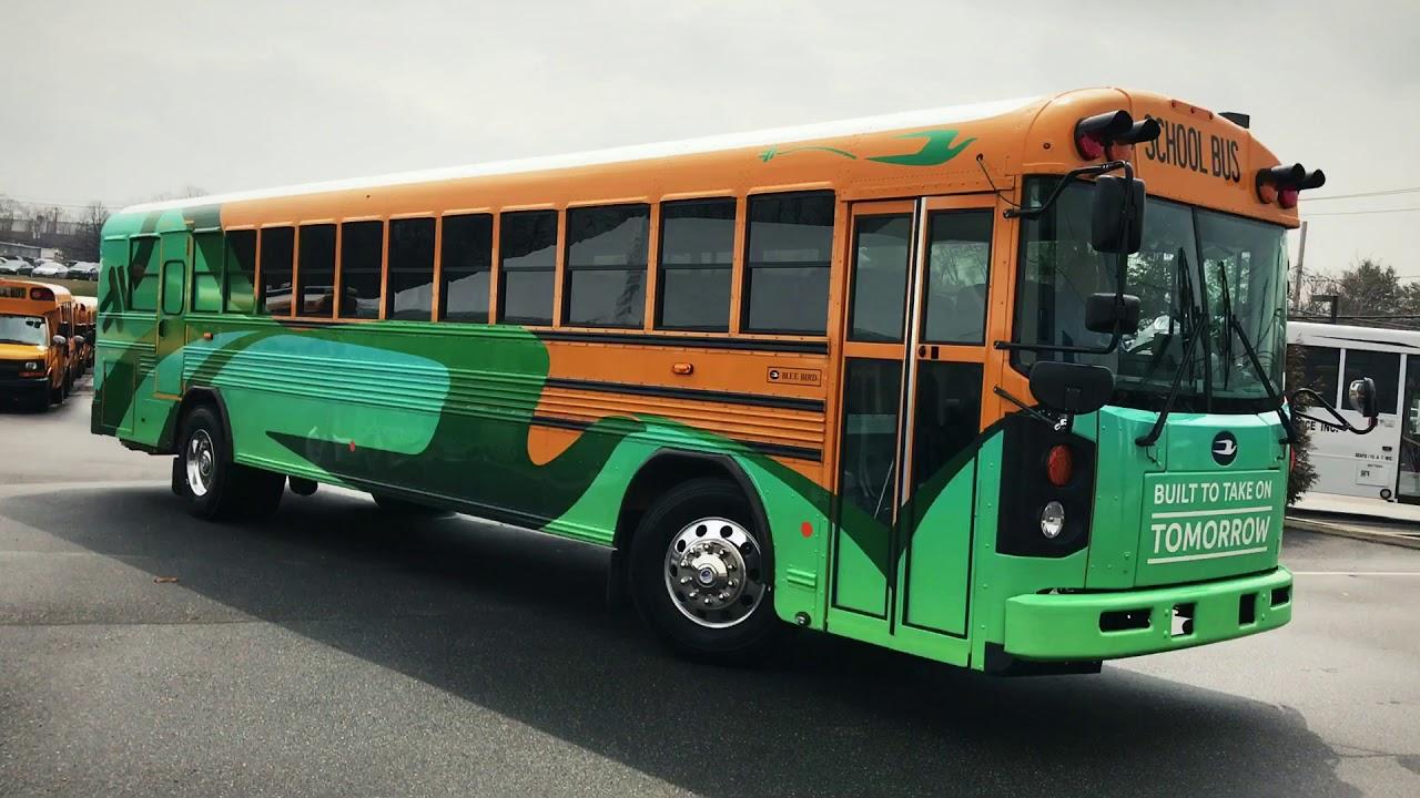 Blue Bird Bus >> 2018 Electric Blue Bird Bus