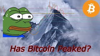 Bitcoin Live : Has BTC Peaked? Episode 633. Crypto Technical Analysis