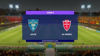 Lecce vs Monza | Serie B (04/01/2021)
