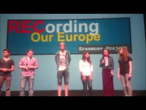 Acto clausura  proyecto Recording our Europe  iniciativa del IES Puerto del Rosario