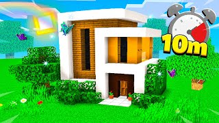 How To Build A Modern House In 10 Minutes!