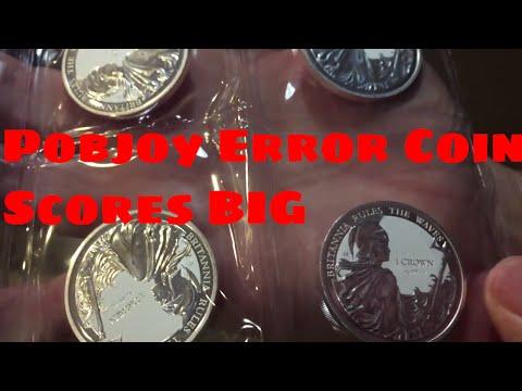 POBJOY SILVER VARIANT COIN SCORES BIG