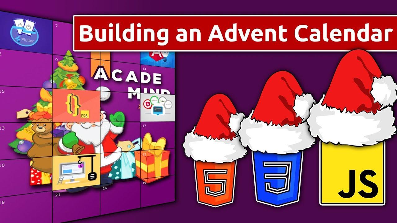 Building an Advent Calendar with JavaScript, HTML & CSS