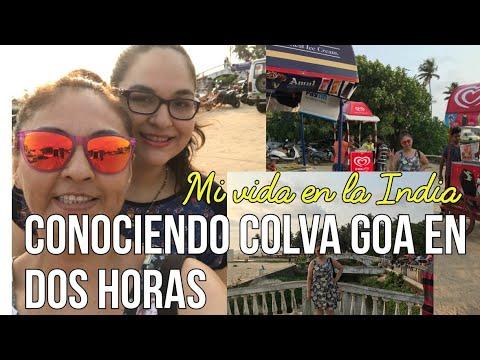 Vlog137: Ese auto no era nuestro. La confundieron con India. Paseando con mi tía por mi Colva Goa. thumbnail