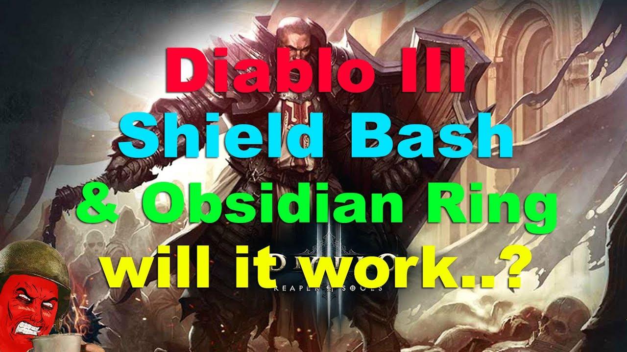 Diablko Ring Of Obsidian