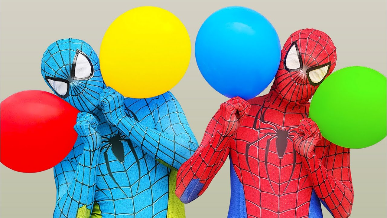 Spider Man Popping Balloons #6