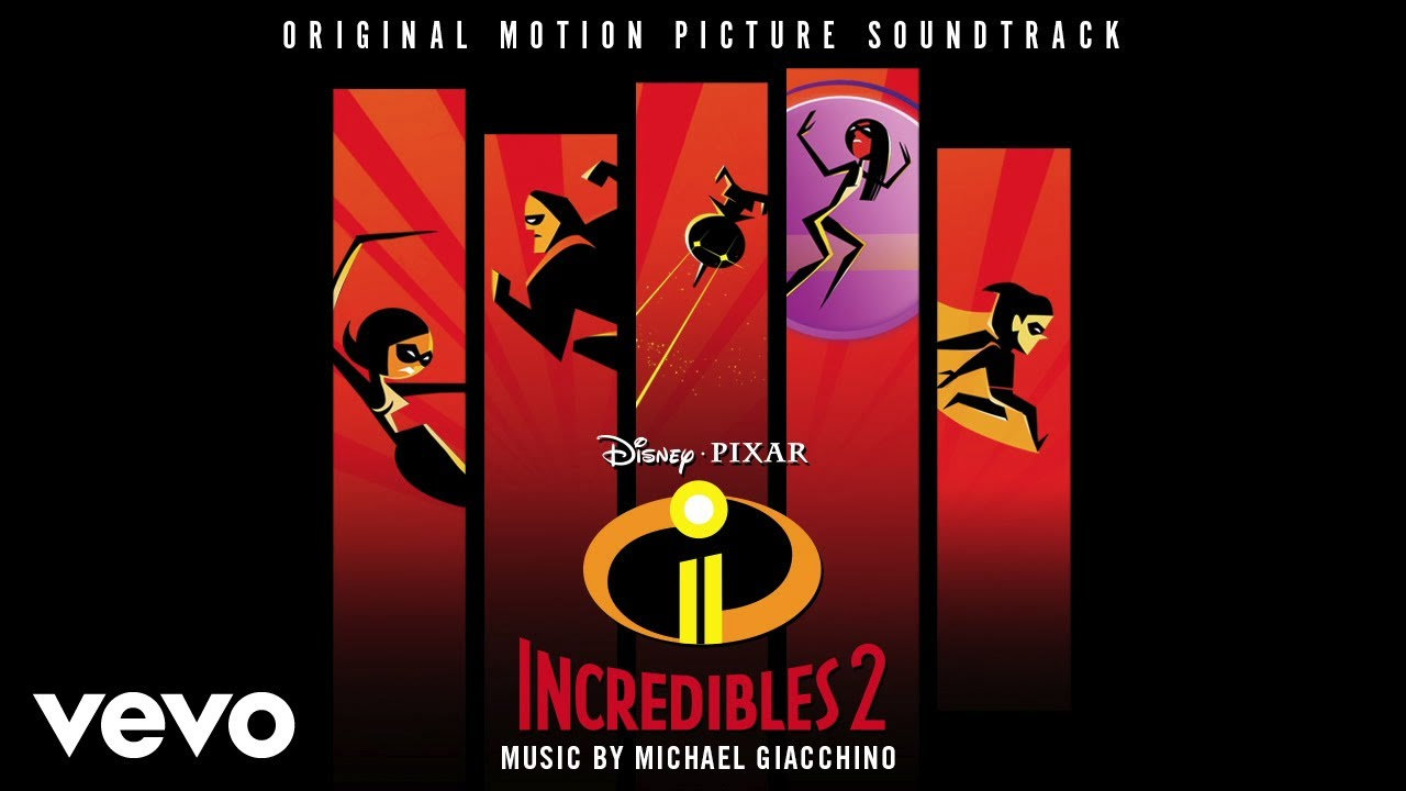 "Michael Giacchino - Incredits 2 (From ""Incredibles 2""/Audio Only)"