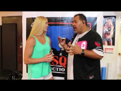 HOLLY HOLM & DJ ANIMAL KISS 97.3 INTERVIEW 6-22-2016