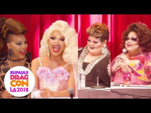 Drag Moms & Daughters w/ Alexis Mateo, Vanessa Vanjie, Stacy Layne & MORE @ RuPaul's DragCon LA 2018