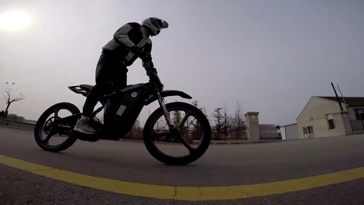 Carbon Fiber Electric Bike Samurai By Denzel Youtube