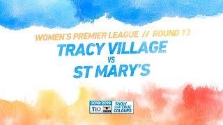 Tracy Village vs St Mary
