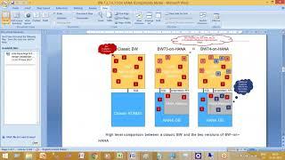 SAP BW4HANA | SAP BW 7 3 على هناء عابرة مزود | واردات | صادرات | وزن الجسم | هناء نماذج