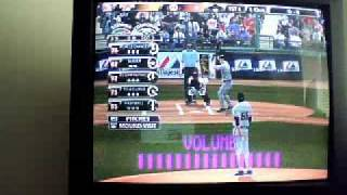 How to get a stike out with any pitcher on MLB 2K9 (On xbox 360)