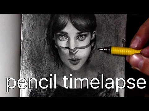 Pencil Drawing Timelapse