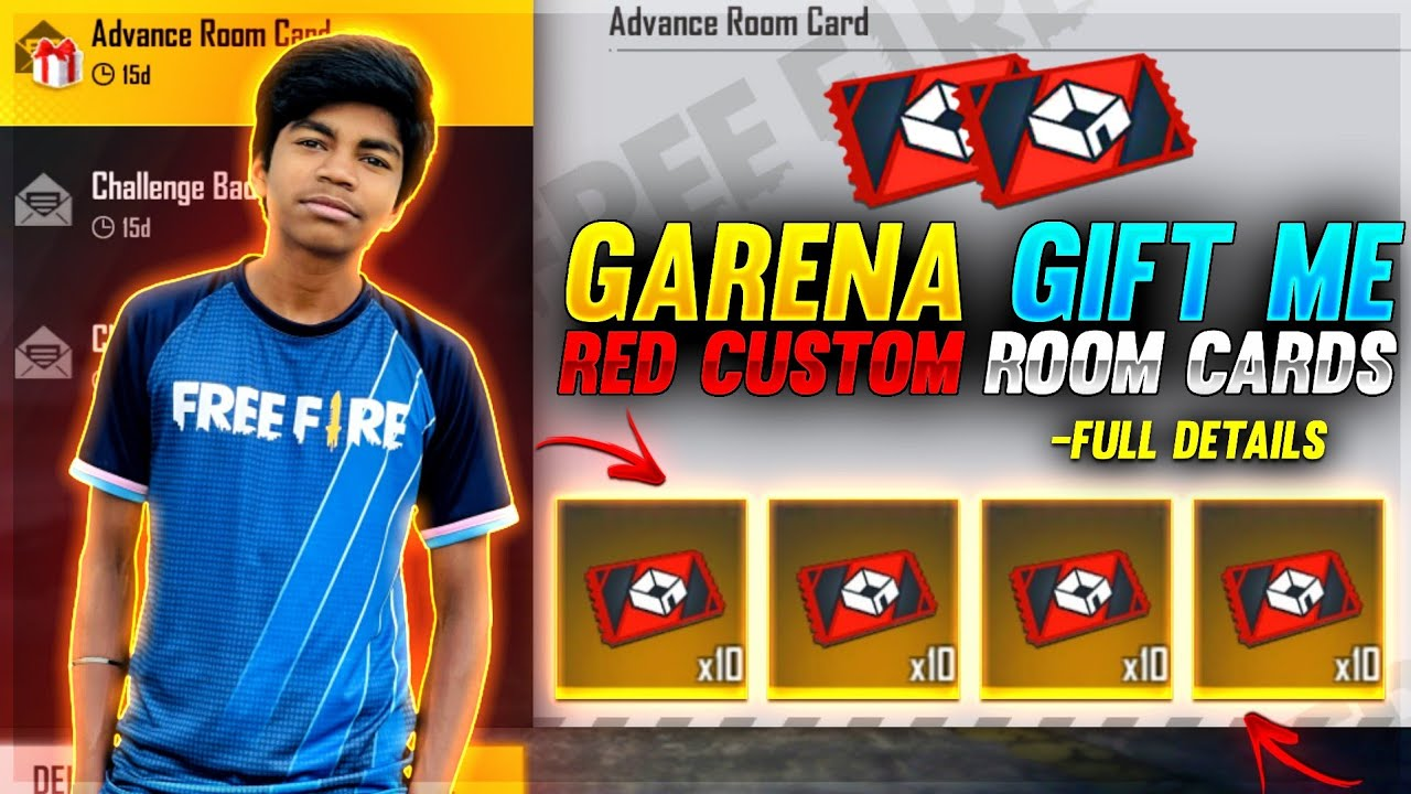 New Red Custom Room Card Full Details | Advanced Features | Free Fire New Double Top Up Offer