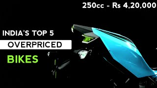 Here Are The India's Top 5 overpriced Bikes | Part 2 | Auto Gyann