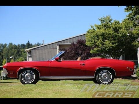 1970 Mercury Cougar Xr7 Convertible Youtube