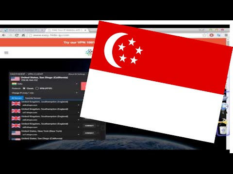 How to Get a Singapore Ip Address! (Singapore Vpn With Proxy list) Software