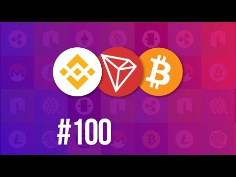 CD# 100. 7th BNB burn. Tron's mainnet has 2.5M accounts. Bitcoin adoption grows.
