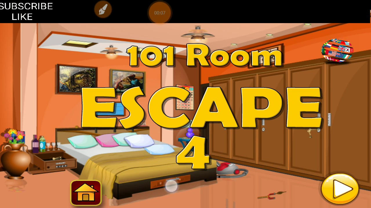 Classic Bedroom Escape Classic Door Escape 101 Room Escape Level 4 Trapped Inside A Logichouse Walkthrough Hfg