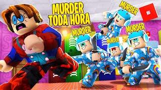 Roblox -  BIANINHO É MURDER TODA HORA NO MURDER MY