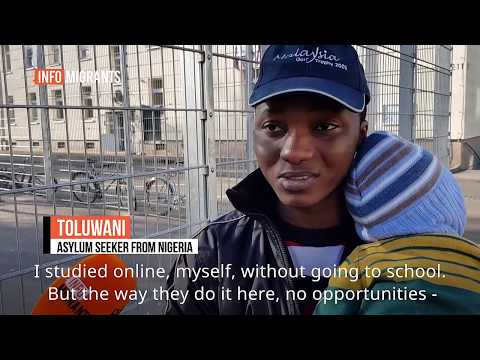 Asylum seekers in Germany: Life at the Schweinfurt anchor center