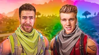 DO WE LOOK LIKE THE STRONGEST FORTNITE DUOS TEAM!?