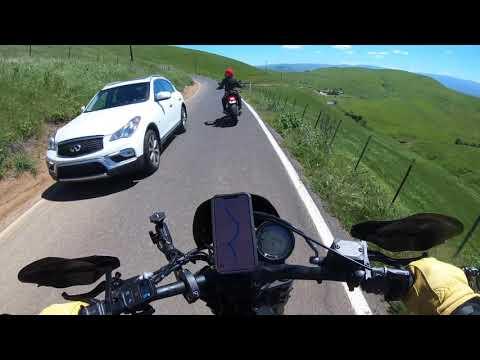 Turkeys and one lane green roads with Melinda and Ducati Scramblers #motovlog #motorcycletravel