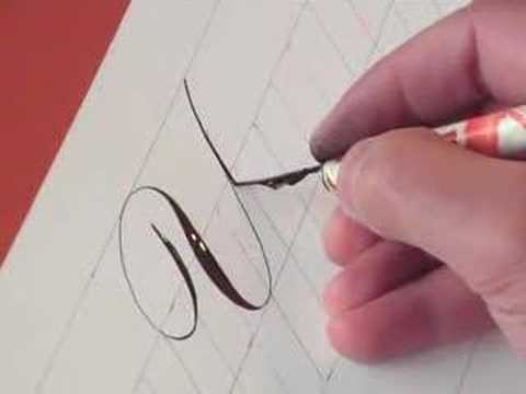 How to write Copperplate (The Letters Y & y)