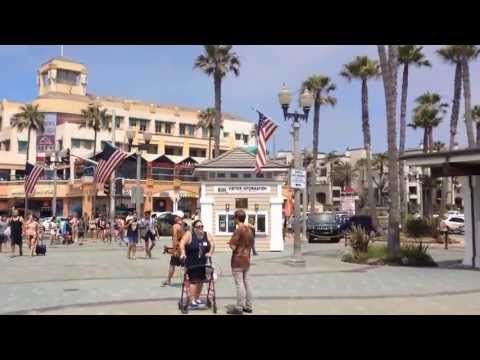 Sights And Sounds Of Huntington Beach ,California