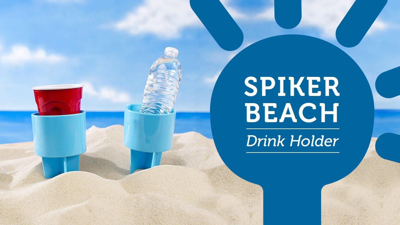 Spiker Beach Drink Holder Youtube