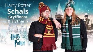 Harry Potter: Warme Schals mit Gryffindor- und Slytherin-Wappen thumbnail