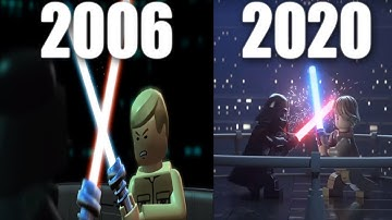 Evolution of LEGO Star Wars Games (2005-2020)