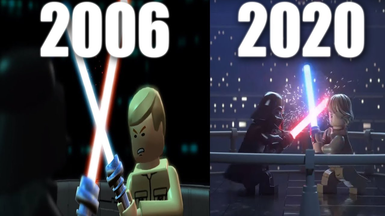 Lego Games 2020.Evolution Of Lego Star Wars Games 2005 2020