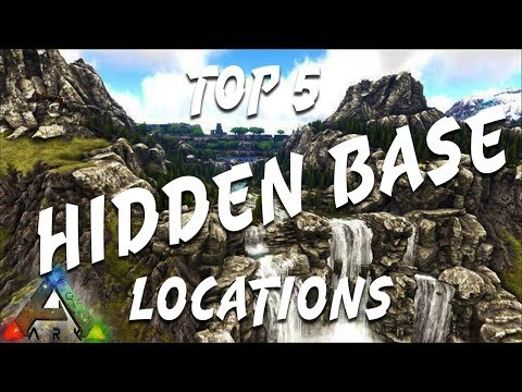 Top 5 Hidden Base Locations - Tutorials - ARK - Official