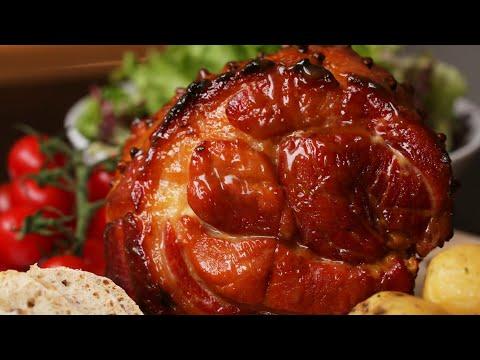 Pineapple Maple Glazed ham