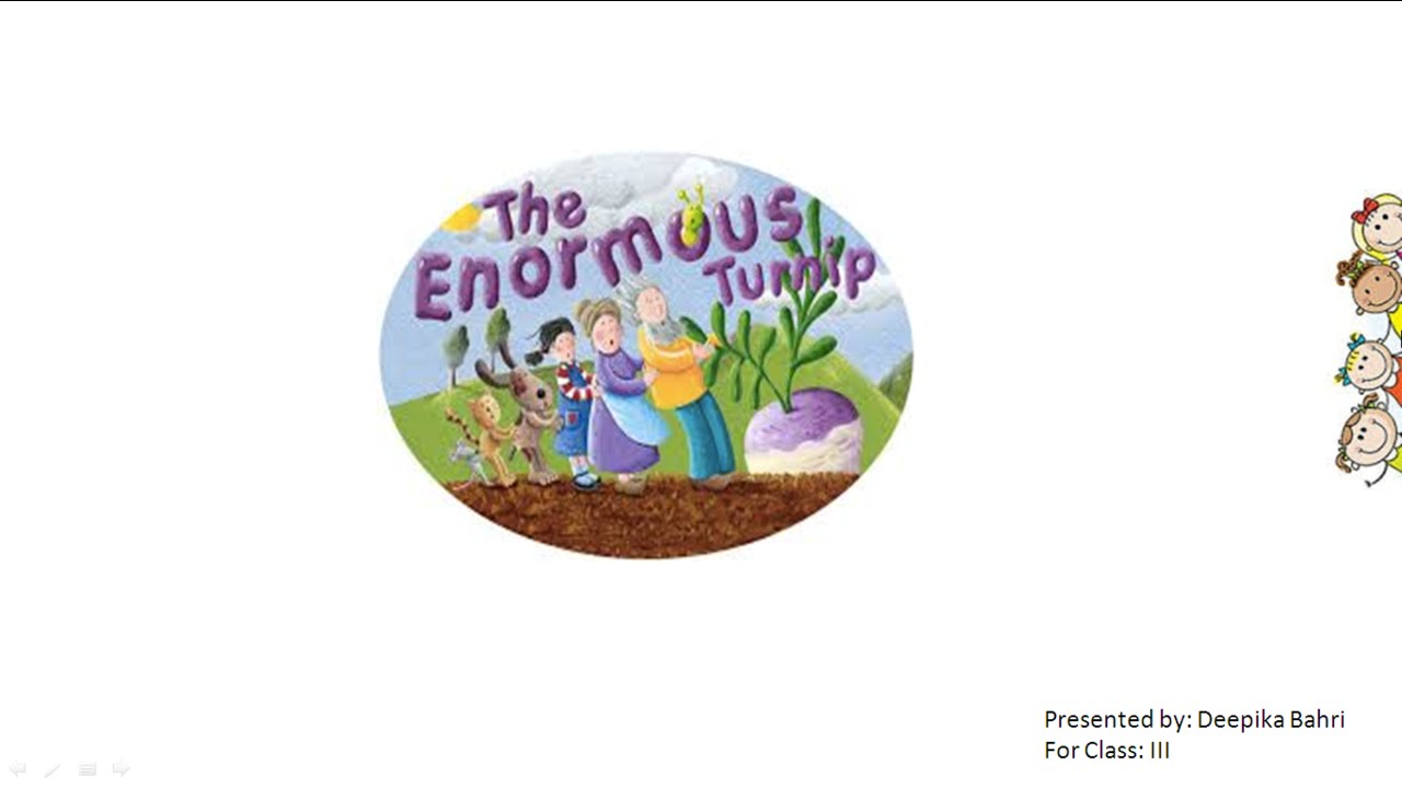 Workbooks the enormous turnip worksheets : Enormous Turnip CBSE Class 3 English Lesson - YouTube