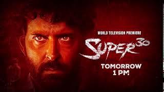 Watch Super 30 Tomorrow at 1 PM | Hrithik Roshan | Mrunal Thakur