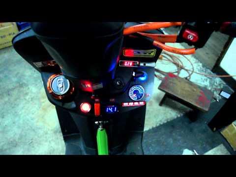 '兆豐摩托渦輪研究社' 渦輪勁戰+機械增壓 Yamaha Cygnus-X Turbo Supercharger | Doovi