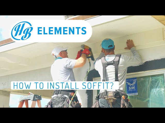 How to Install a Soffit System