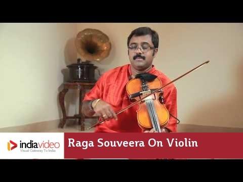 Raga Series - Raga Souveera on Violin by Jayadevan