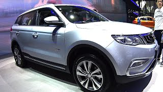 2016, 2017 Geely Boyue SUV launched on the Chinese car market