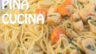 Spaghetti In White Wine Sauce (marinara Bianca) - Pina Cucina Ep. 15