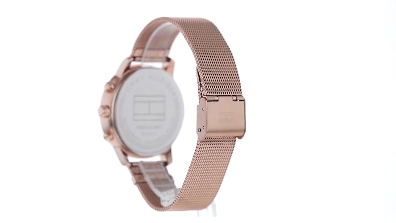 Tommy Hilfiger Ladies Casual Watch - 1781907 - YouTube 2600ca4b17a