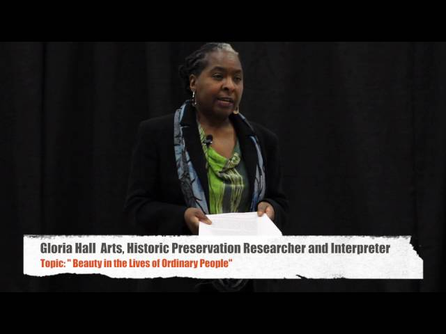 Beauty in the Lives of Ordinary People | Gloria Hall | TEDxWorcester