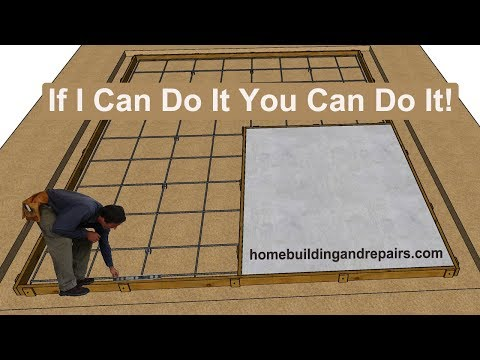 How To Build Concrete Driveways In Sections By Yourself - Keeping Things Simple