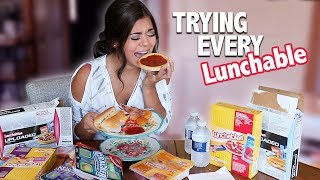 TASTING EVERY LUNCHABLE!