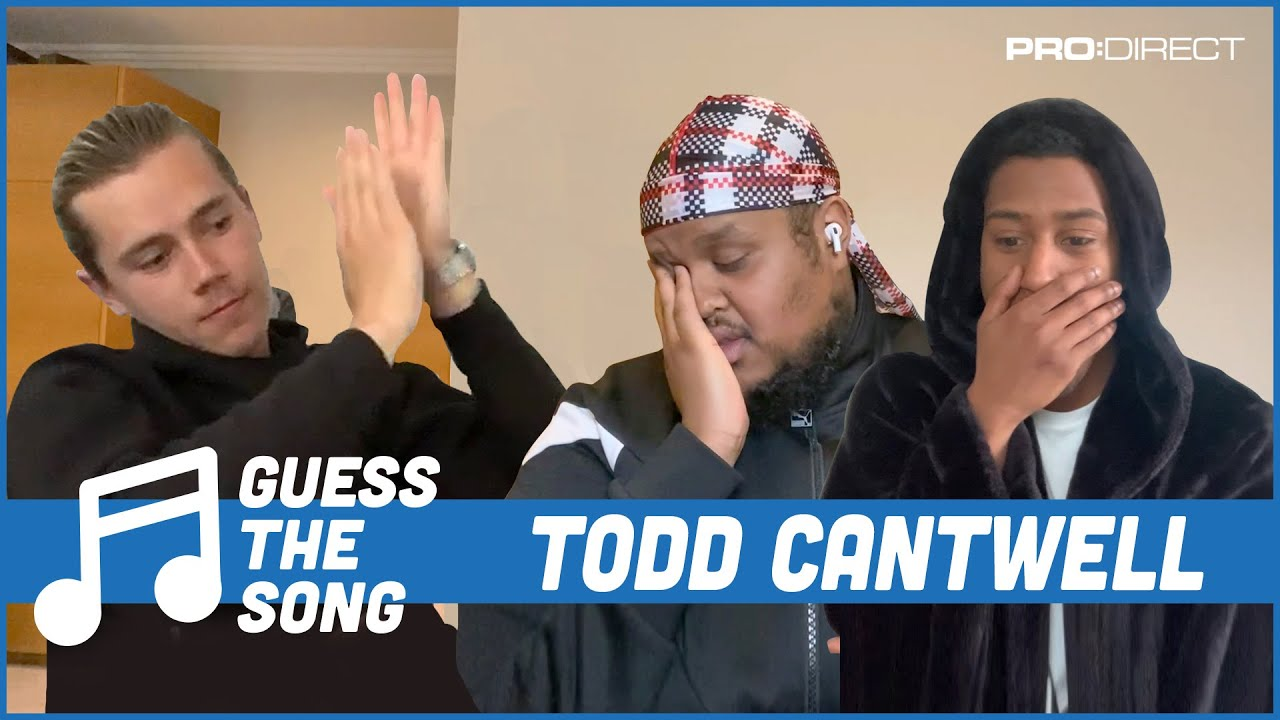 Chunkz loses it and quits! Todd Cantwell & Yung Filly | Pro:Direct Guess The Song Challenge