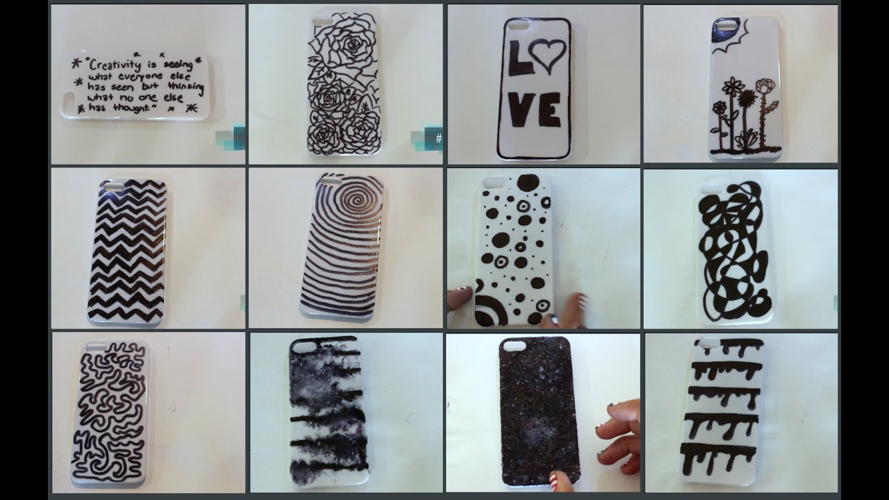 Diy iphone case designs youtube for Design a case
